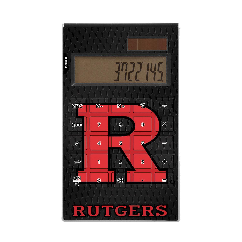 Rutgers University Desktop Calculator NCAA by Keyscaper