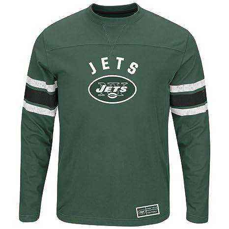 Amazon.com   Majestic Men s New York Jets Power Hit Long Sleeve T ... 3d960d018