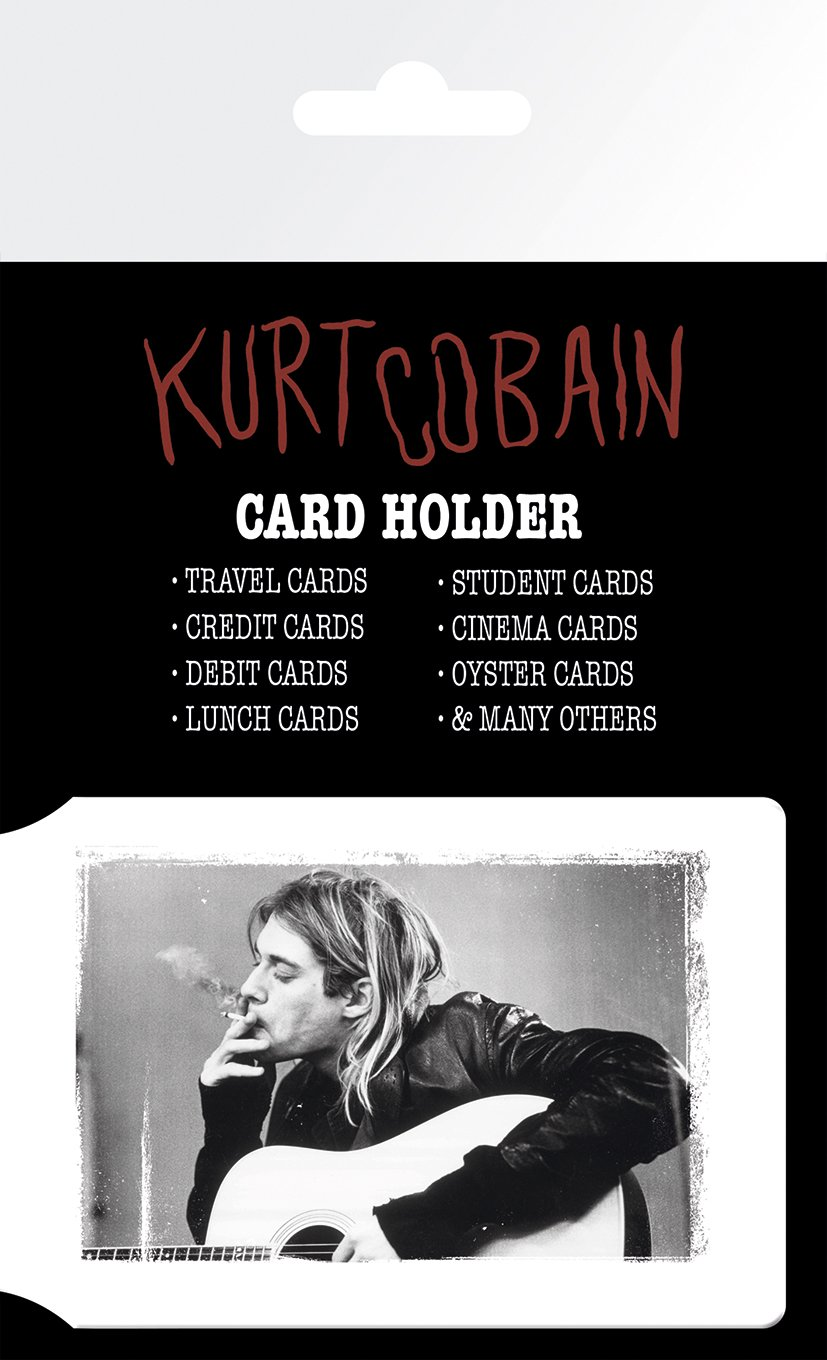 GB eye LTD, Kurt Cobain, Smoking, Tarjetero CH0055
