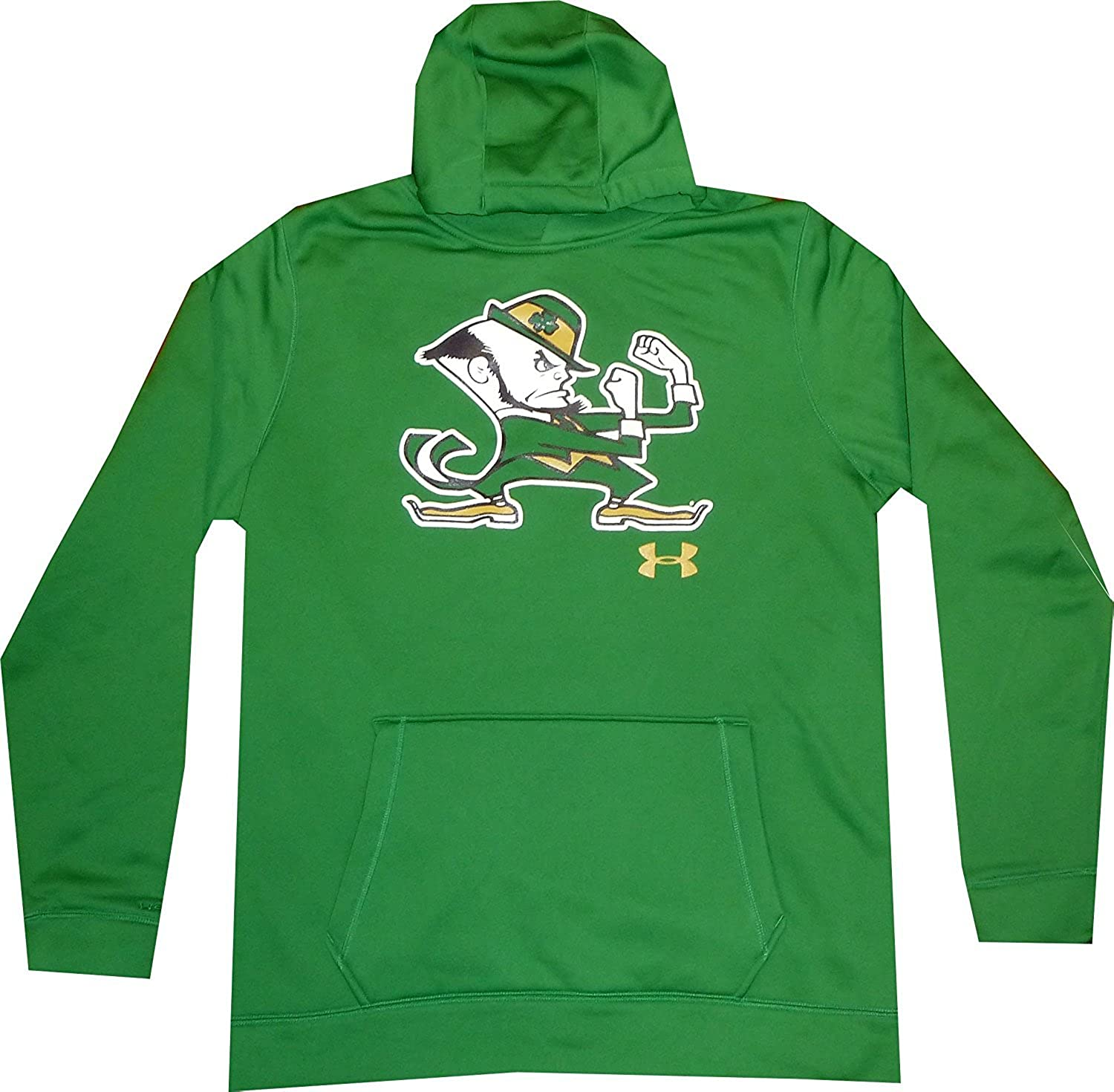 B01M9AGYFR Under Armour Men's Notre Dame Fightin Irish Kelly Green Hoodie Sweatshirt 71syO4PRg-L.UL1500_