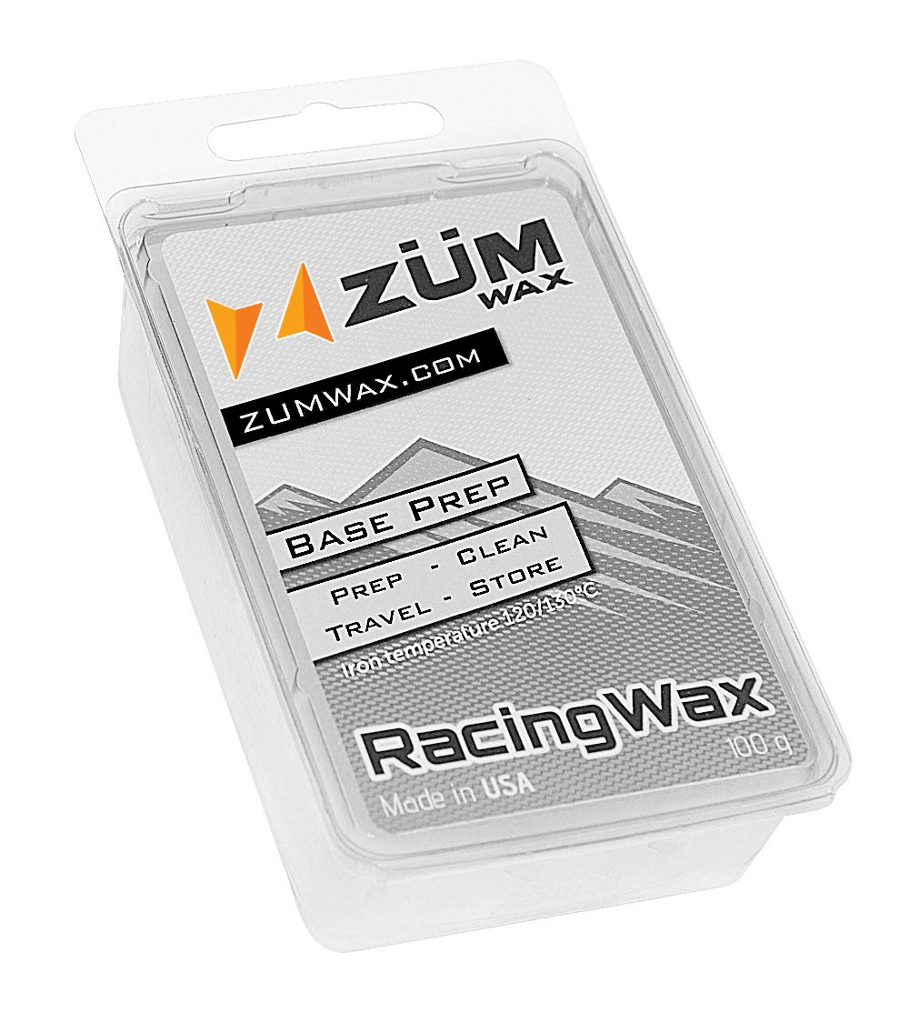 ZUMWax Ski/Snowboard Wax - Base Prep/Clean/Travel/Store - 100 gram - Excellent Storage & Travel Wax - Exellent Summer Storage Wax by ZUMWax