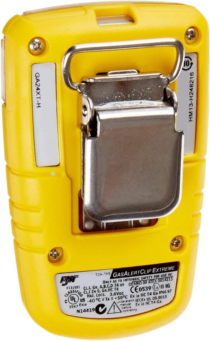 BW Technologies GA24XT-H-B50 GasAlertClip Extreme 2 años detector ...