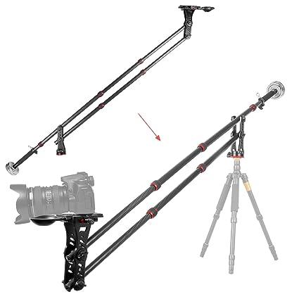 Kingjoy Jib brazo de fibra de carbono Cámara grúa, vm-301 C con ...