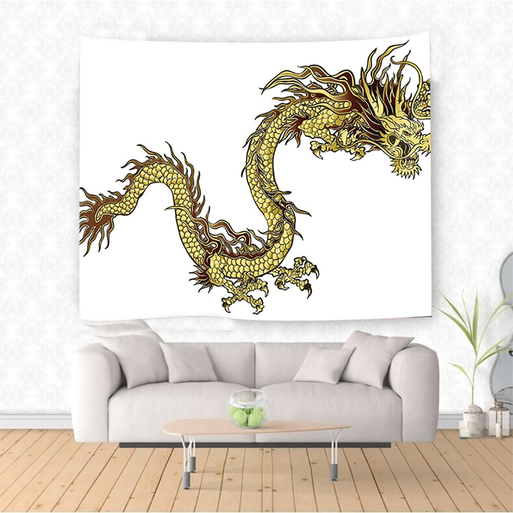 Amazon com: Nalahome Decor Fire Dragon Zodwith Large Claws Symbol of
