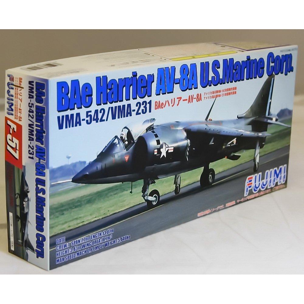 VMA-542//VMA-231 by Fujimi F57 1//72 Bae Harrier AV-8A U.S.marine Corp