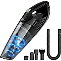 HoLife Handheld Vacuum with 14.8V Li-ion Battery Powered Rechargeable Quick Charge Tech and Cyclone Suction Lightweight Hand Vac