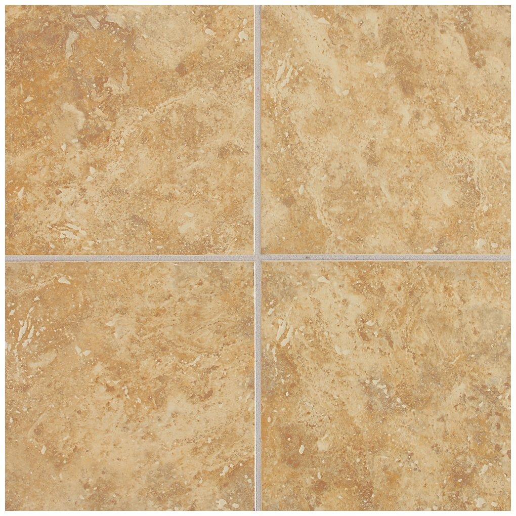 Dal-Tile 1818V1P2-HL03 Heathland Tile, 18'' x 18'', Amber