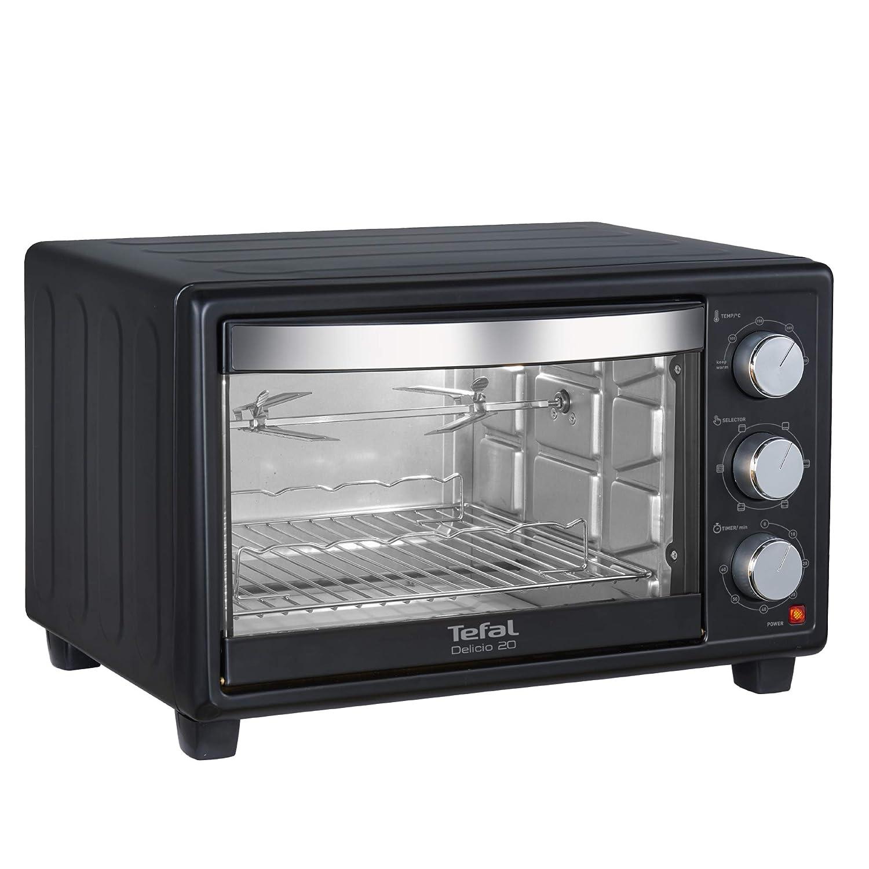Tefal Delicio OTG020 Oven Toaster Griller (OTG) 20L (Black)