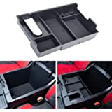 JDMCAR Center Console Organizer Compatible with Tundra Accessories 2014-2019 2020,Armrest Box Secondary Storage Tray