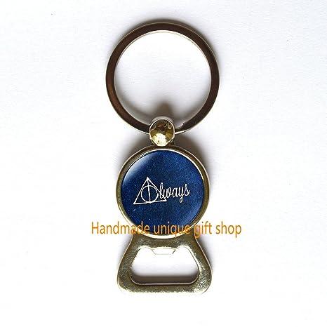Amazon.com: Fashion Bottle Opener Keychain, siempre Bottle ...