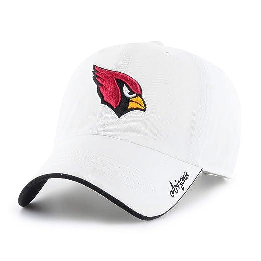 83a09d570869d9 NFL Arizona Cardinals Women's Accolade OTS Challenger Adjustable Hat,  White, Women's