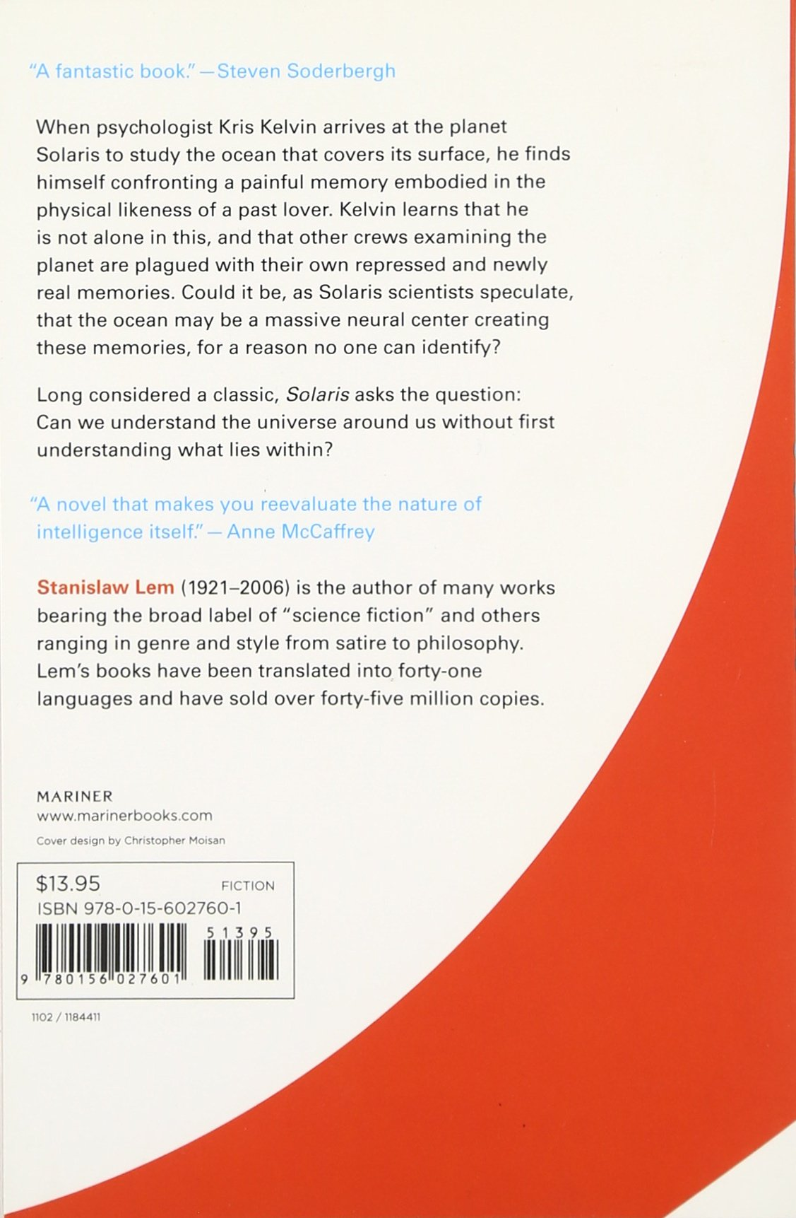 Solaris: Stanislaw Lem, Joanna Kilmartin, Steve Cox: 9780156027601:  Amazon: Books