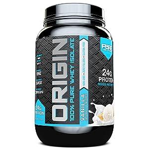 Pure Label Nutrition Origin 100% Whey Protein Isolate