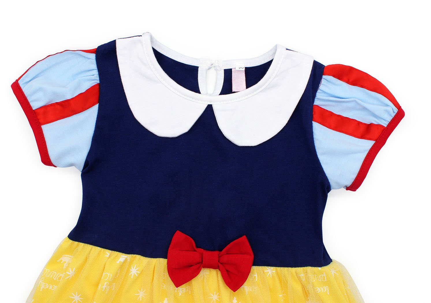 Jurebecia Princess Snow White Dress Toddler Girls Nightgowns Birthday Halloween Party Costumes with Cape Size 3T by Jurebecia (Image #5)