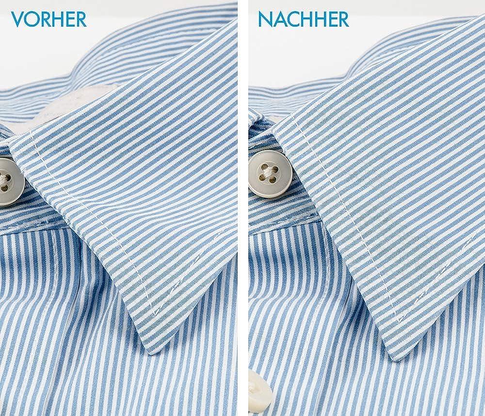 MC24 – Cuello varillas de acero inoxidable de alta calidad – Cuello lisos para sazonar en el cuello de camisa muy estable, superficie pulida con esquinas redondeadas 9 Paar Messing: Amazon.es: Informática