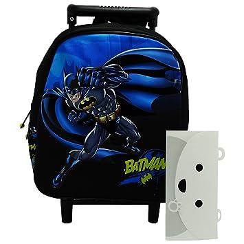 Dc Comics Batman Mochila Trolley con Ruedas Bolso Escolar Guarderia: Amazon.es: Equipaje