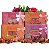 Luxury Serene Scented Tealight Candles Gift Set - 48 Scented Tealight Candles. Ideal for Women, for Her, Gifts for Her,