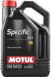 Motul - 106352 : aceite lubricante especifico specific ford 948b 5w20 5l