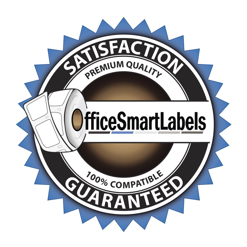 4 Rolls | OfficeSmart Internet Postage w/Delivery Confirmation Labels | Dymo 30387 Compatible for DYMO LabelWriters 330 400 450 Twin Turbo Duo 4XL Printer
