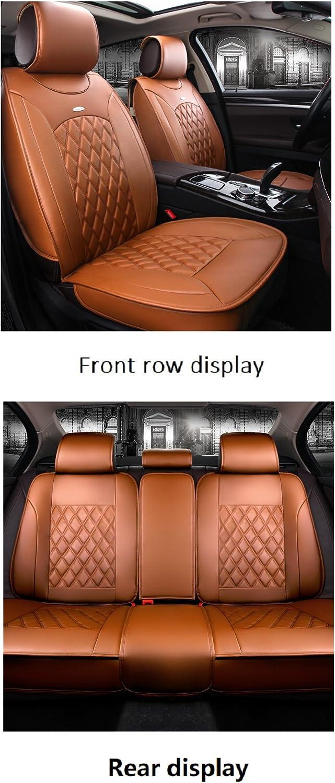 Auto Sitzbezüge 5 Sitze Vollen Satz Orange Auto