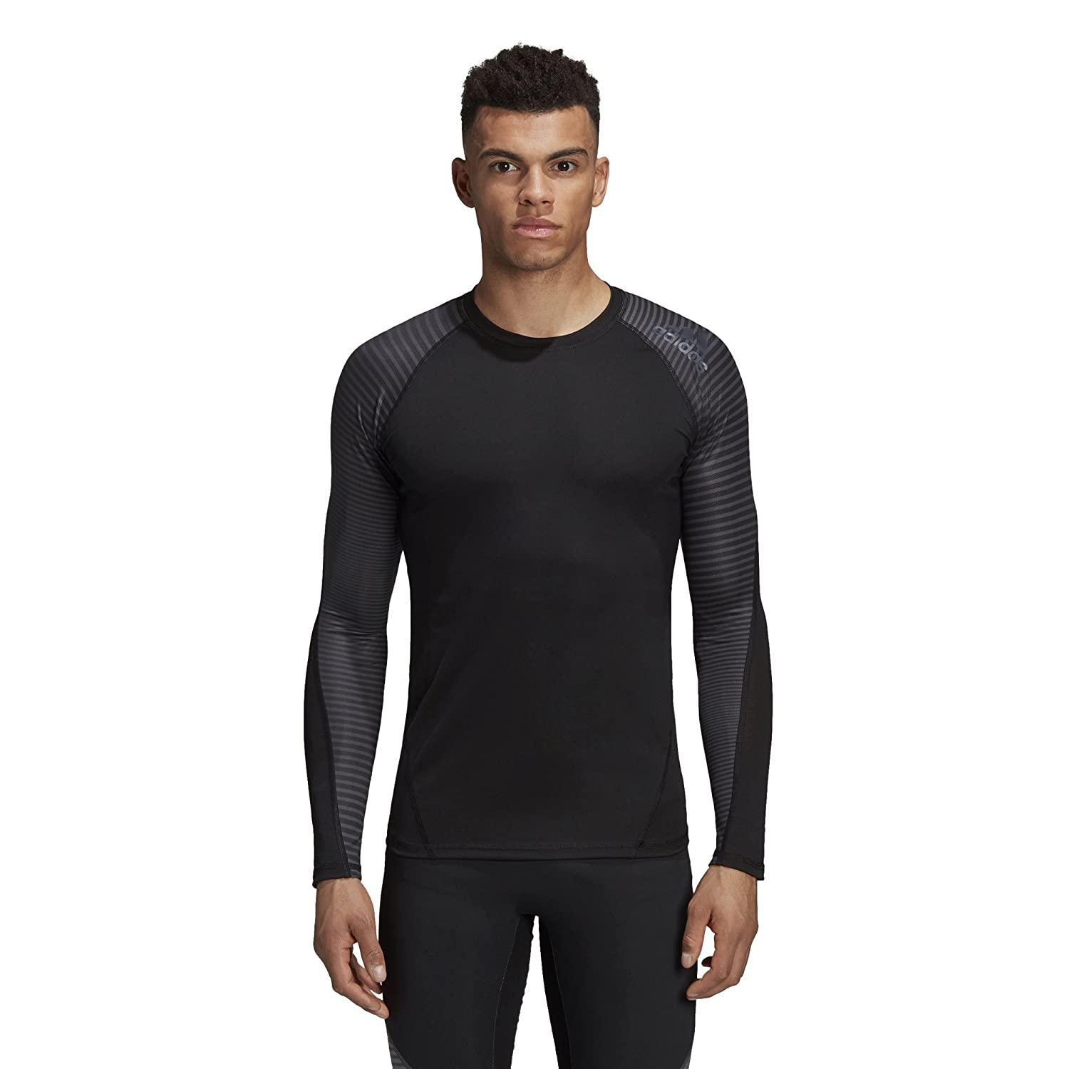 Adidas Men's Alphaskin Sport Climawarm Long Sleeve Tee