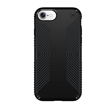 Speck Products Presidio Grip Cell Phone Case for iPhone 7 - Black,  79987-1050