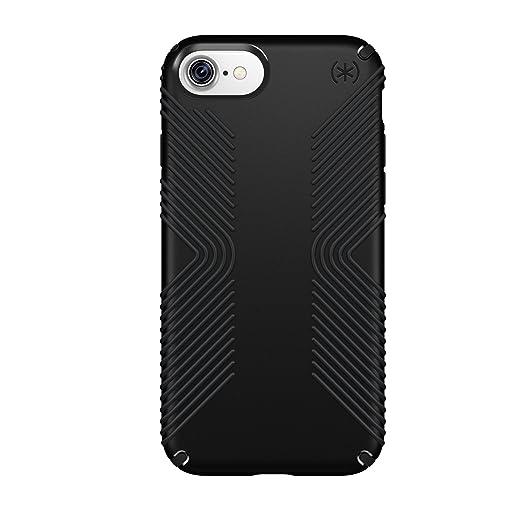 14 opinioni per Speck Presidio Grip- Custodia per Apple iPhone 7, Nero/Nero