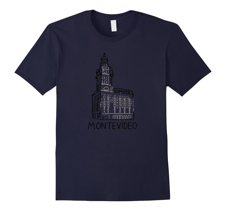 Salvo Palace Montevideo Uruguay T shirt Tshirt tee-TD