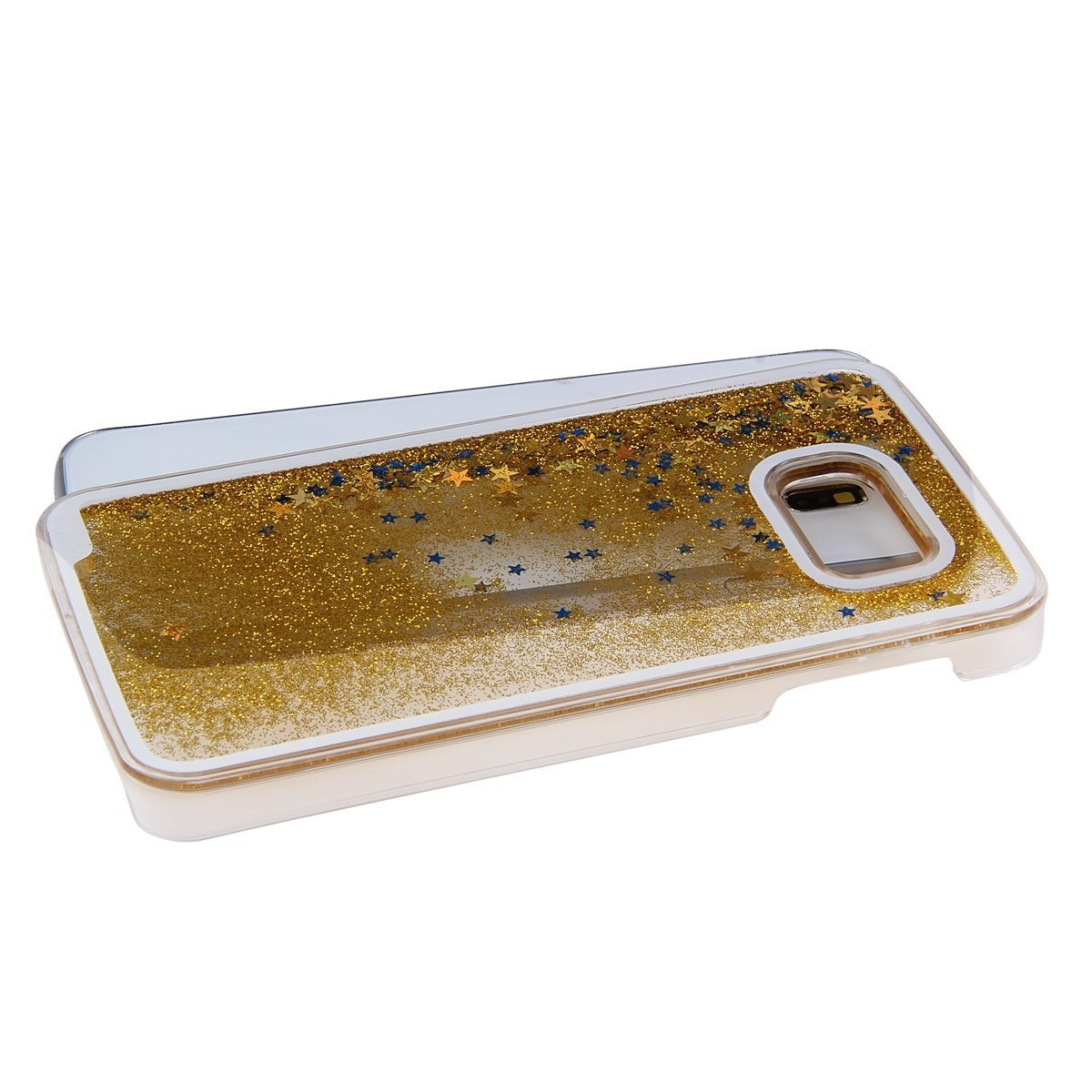 Amazon.com: Galaxy S6 Funda, liujie Cute Funny Glitter ...