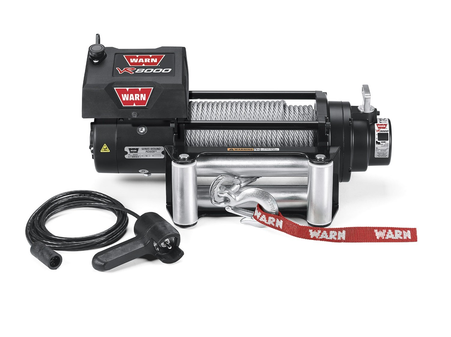 71syf3RVqtL._SL1500_ amazon com warn 86245 vr8000 8,000 lb winch automotive Electric Hoist at mifinder.co