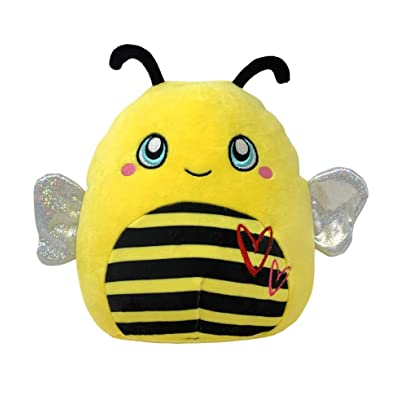 Squishmallows Kellytoy Valentines Squad Sunny the Honey Bee 8 Inch Exclusive: Toys & Games