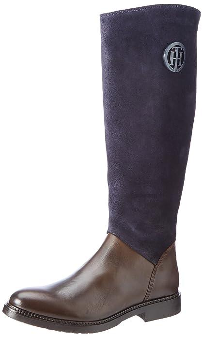 8267addb Tommy Hilfiger H1285olly 18c, Botas para Mujer: Amazon.es: Zapatos y  complementos