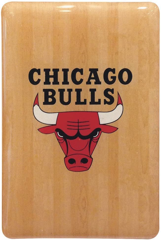 NBA Chicago Bulls Fridge Magnet, Brown, One Size