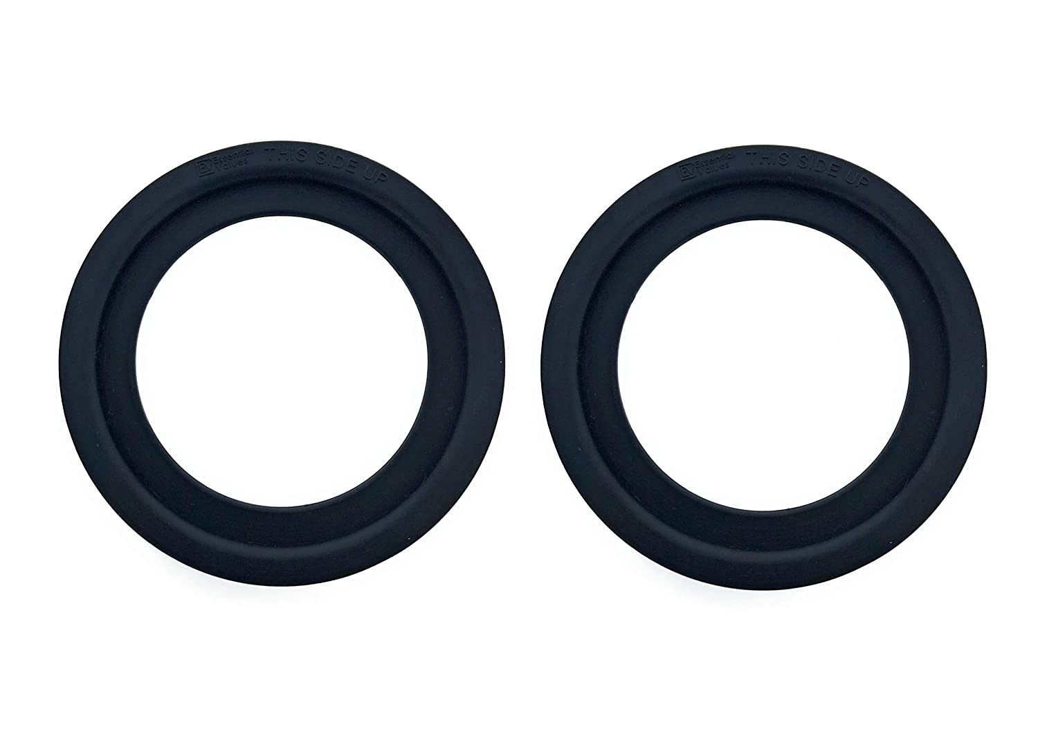 Essential Values 2 Pack Replacement Flush Ball Seal for Dometic RV Toilets Compatible with Models 300//310//320 Equivalent to Part Number 385311658