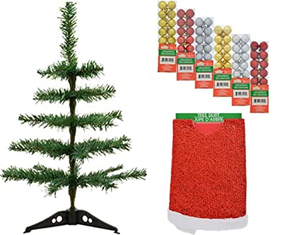 desktop christmas tree bundle
