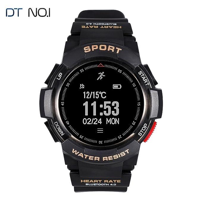 Reloj Inteligente Smart Watch QIMAOO IP68 impermeable de Natación Smart Watch Hombre Reloj Deportivo Inteligente, Podómetro ,Sueño,Notificación de SMS ...