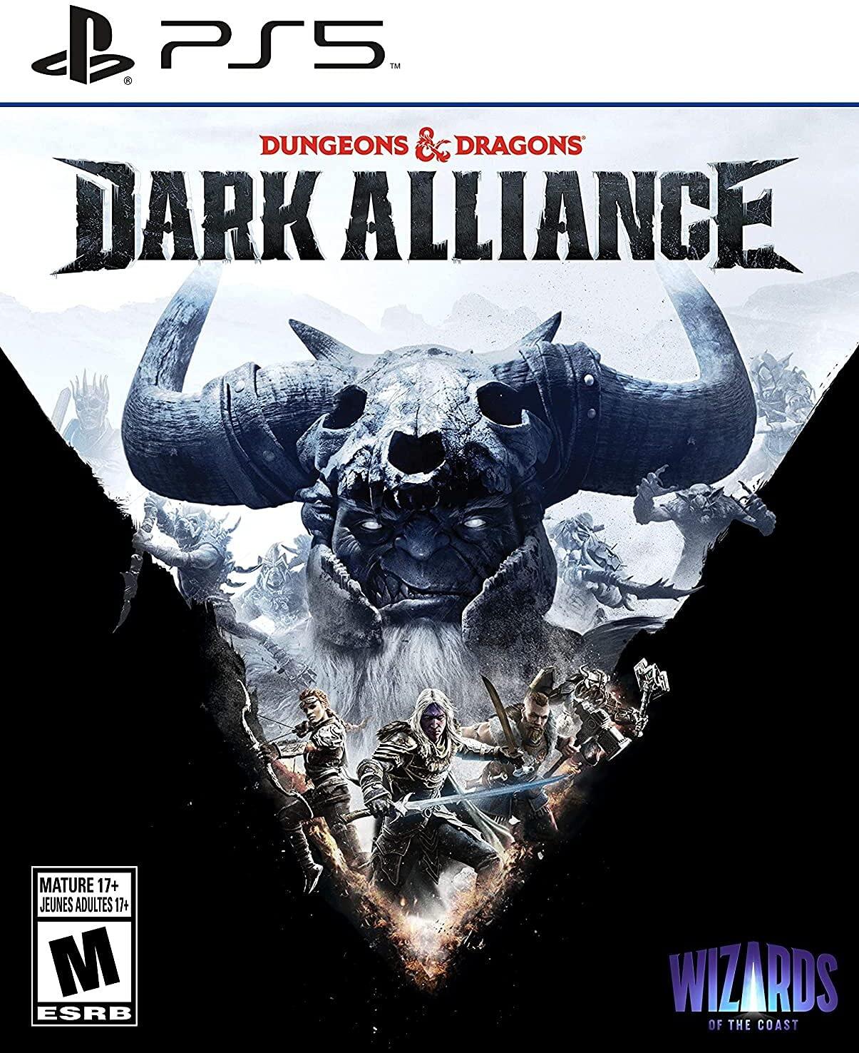 Poster. Dungeons & Dragons: Dark Alliance