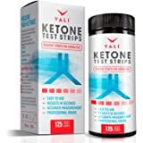 Ketone Test Strips for Ketones Testing - 125 Pack Keto Urinalysis Tester Strips Kit for Ketogenic, Paleo, Atkins & Low Carb Diets. Premium Ketosis Testing, Accurate Measurement of Ketone Urine Levels