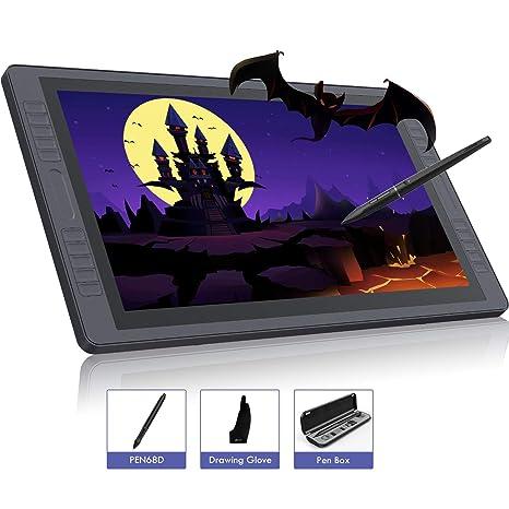 "Monitor Tableta Gráfica HUION KAMVAS GT-221 Pro 21.5"" Full HD IPS 8192 Niveles"