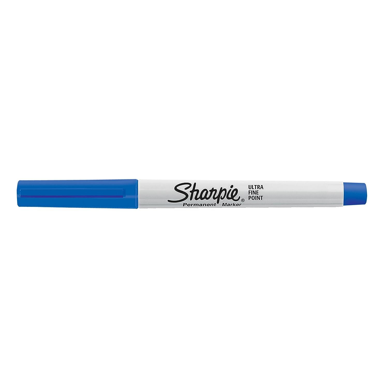Sharpie – Juego de rotuladores permanentes de escritura ultrafina (12 negros (12 ultrafina unidades), color colores variados 24-Count e12bcc