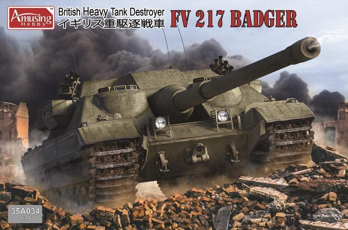 FV217 Badger Amusing Hobby 1:3 5