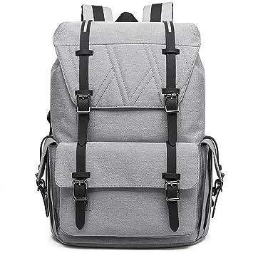 Sac à Dos Ordinateur 17 Pouces Multifonctionne Sac a Dos Weekend Scolaire  College Sport Backpack pour cd06c42883fa