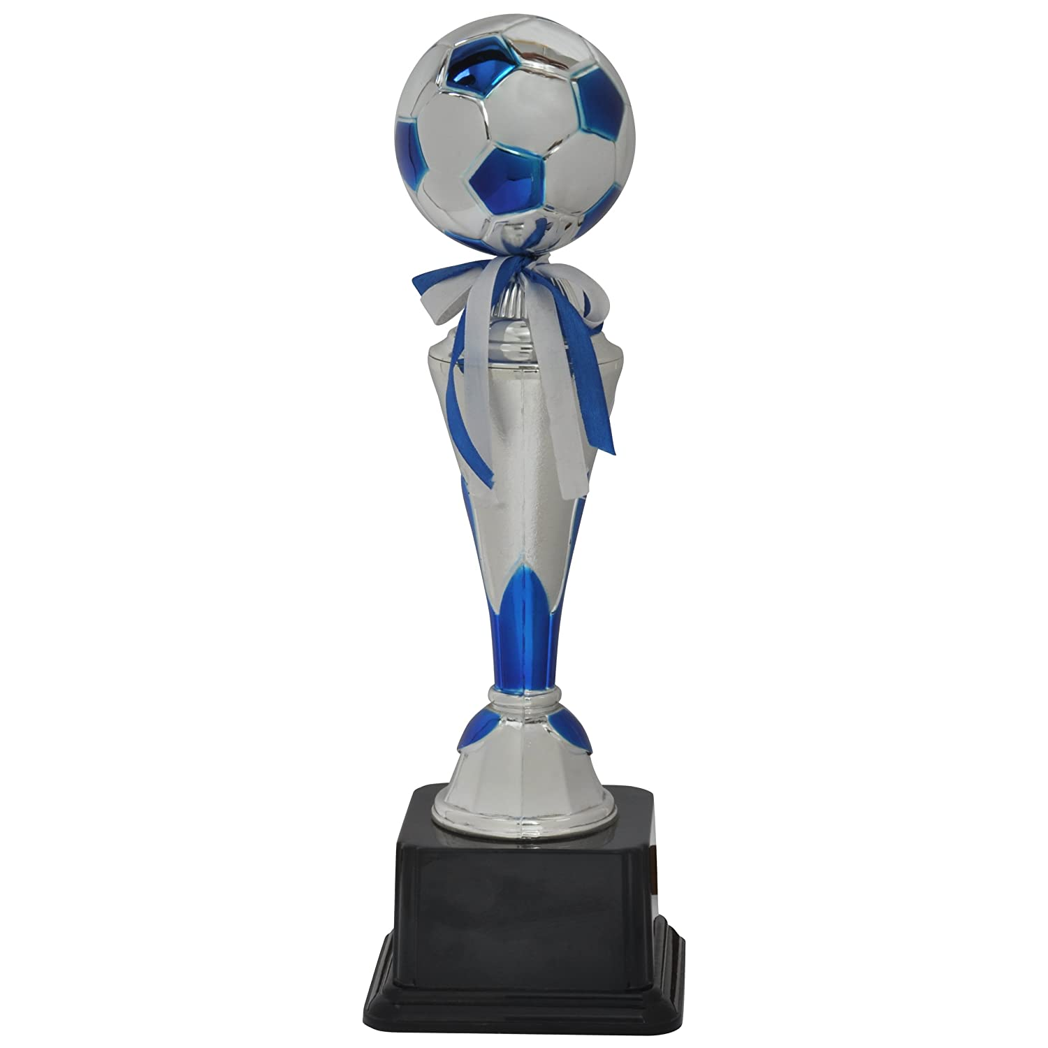 Buy Jupiter Industries Shiny Golden Football Winner Trophy Blue