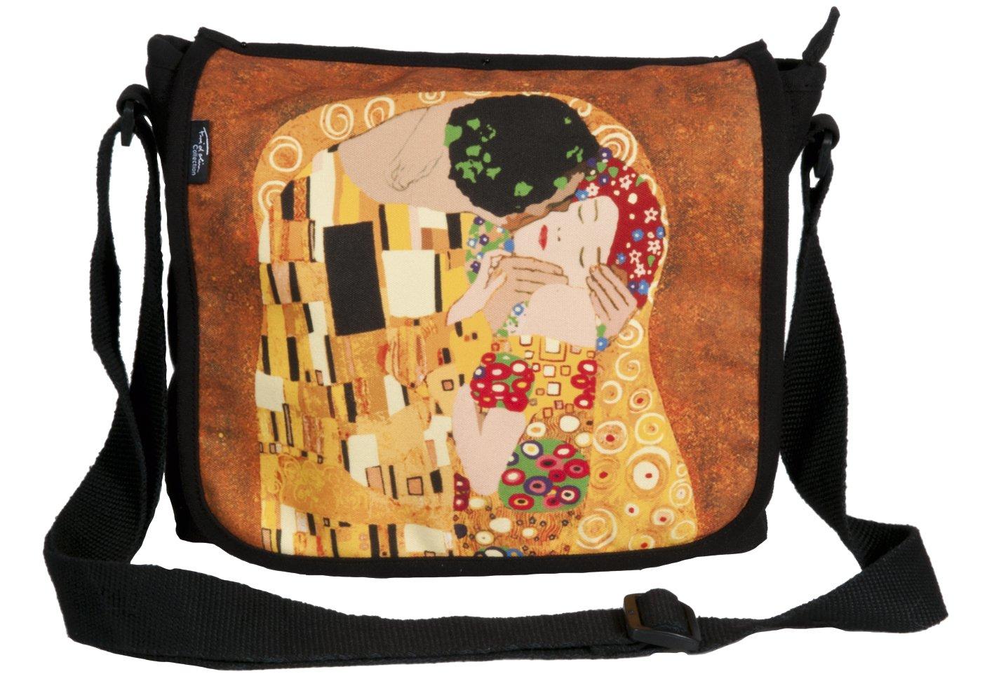 Torba na ramie Gustav Klimt - Der Kuss, Pocalunek