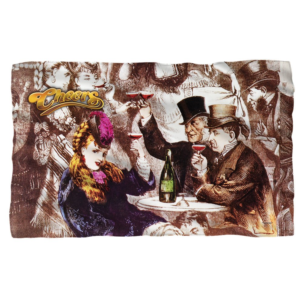 a7d4e1a755e1 30%OFF Old Fashioned -- Cheers -- Fleece Throw Blanket - isabellamsk.ru