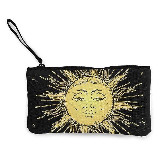 Billetera, Monederos, Cute Canvas Wristlets Ouija Board Sun ...