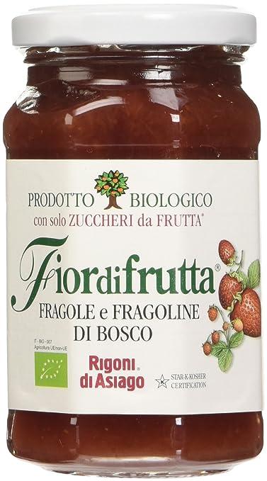 24 opinioni per Rigoni Confettura Senza Zucchero Fragole Gr.250,prodotto biologico