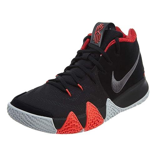 000d6a112 Nike - Kyrie 4-943806005 - El Color: Negro-Rojo - Talla: 9.5: Amazon ...