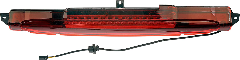 TUPARTS 3rd Brake Light High Mount Brake Light 15201921,923-204,GM2890106,1228-0121 LED Rear Light Red Lens Fit for 2004-2007 Buick Rainier 2002-2009 for Chevrolet Trailblazer
