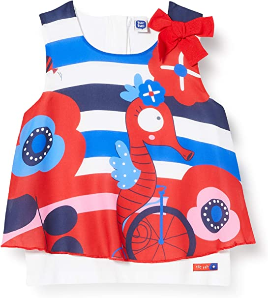 Tuc Tuc Baby-M/ädchen Sea Riders Kleid